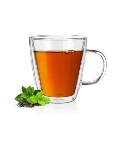 Stiklinis puodelis su dvigubomis sienelėmis 1vnt