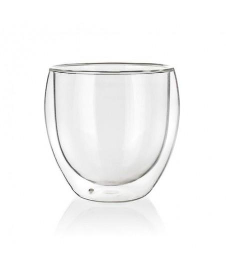 Stiklinė su dvigubomis sienelėmis 1vnt