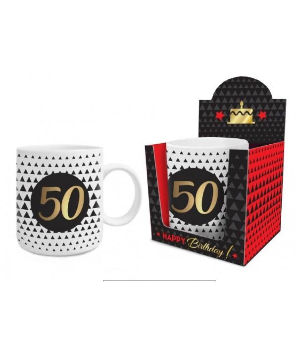 "Puodelis Big  ""Gold Birthday"",50"
