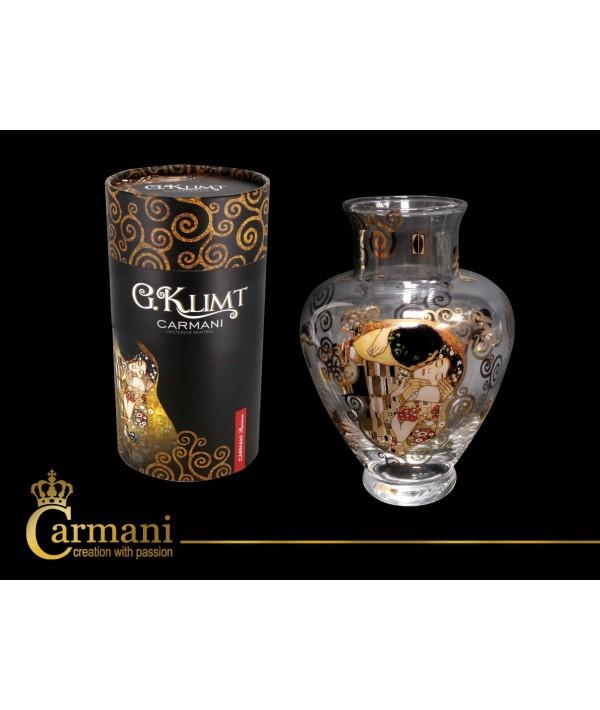 """Vaza iš stiklo G.Klimt""""Bučinys"""""""