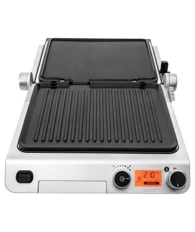 Elektrinis grilis su automatiniu temperatūros reguliatoriumi