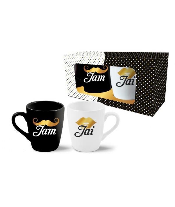 """Puodeliai 2vnt 300ml """"Jam+Jai"""""""