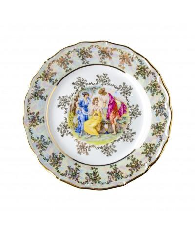 Lėkštė iš porceliano 25cm,Verona,Y3587