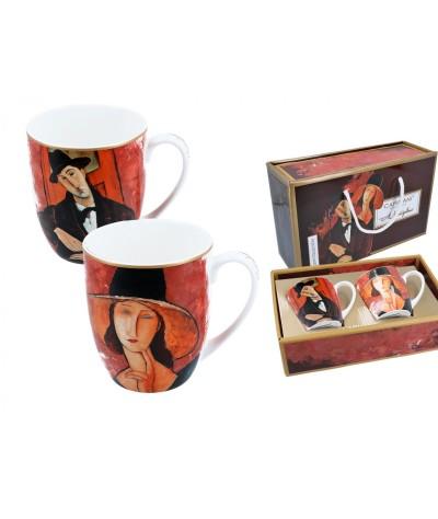 Puodeliai 2vnt A.Modigliani...