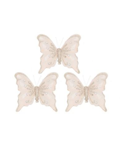 Kalėdų drugeliai prisegami...
