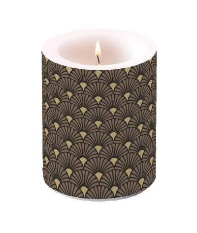 Dekoruota žvakė 10cm Black...