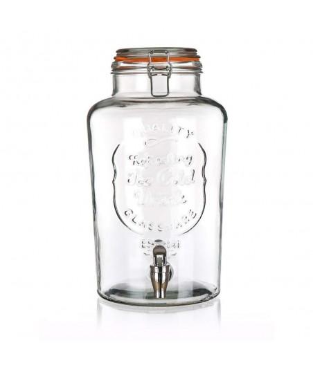 Stiklinis indas su kraneliu...